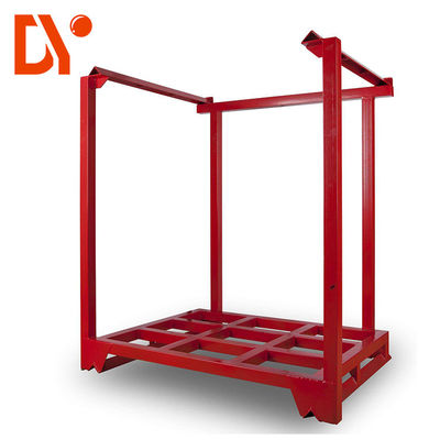 Workshop Rack Pallet Stackable Bahan Baja Sertifikasi ISO9001