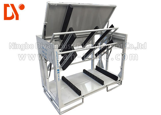 Turn Over Workshop Tool Trolley Anti Statis Ukuran Customized Cold Pressing / Rolling