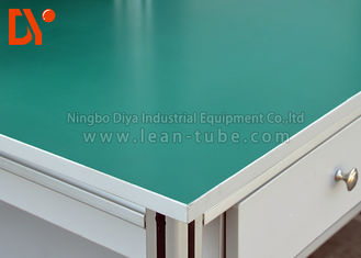 Panel Meja Esd Countertop Green Color Polywood Material High Performance
