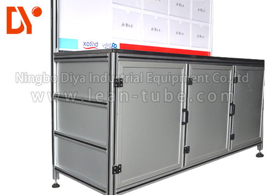 Meja Aluminium Industri Workbench Equipment Anti - Corrosion Custom Size