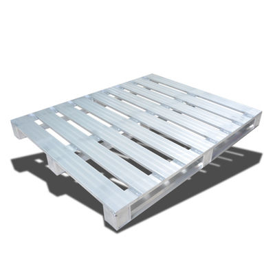 Palet Logam Stackable Gudang / Pallet Stainless Steel Standar Euro
