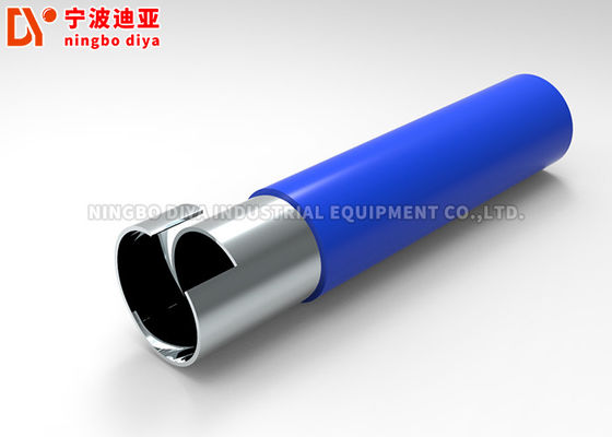 OD 28MM PE / ABS Coated Pipe Q195 Steel Tube untuk sistem Pipa Perakitan